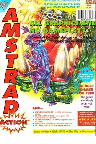 Amstrad Action Dec 1990