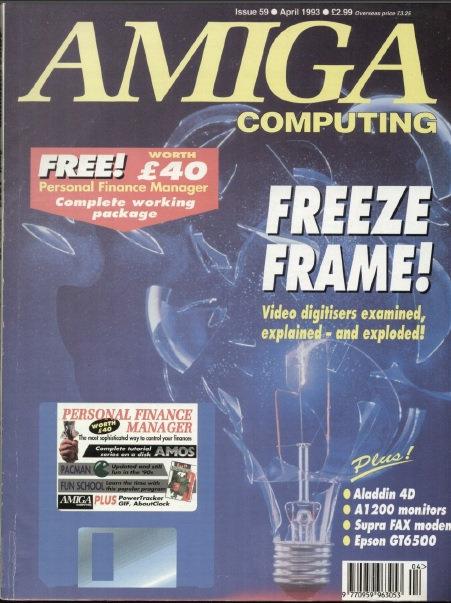 Amiga Computing April 1993
