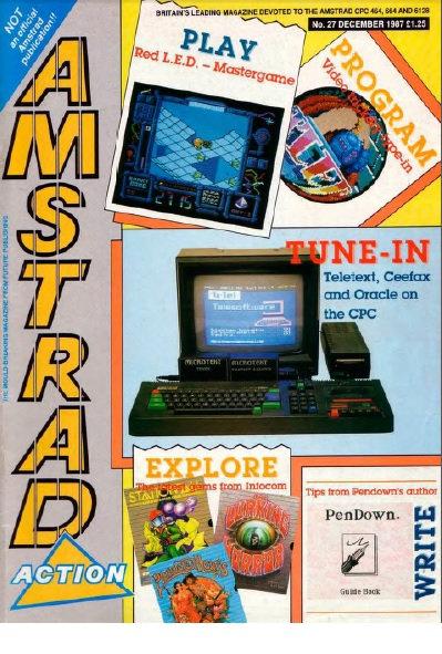 Amstrad Action Dec 1987