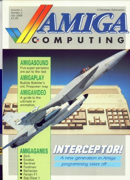 Amiga Computing July 1988