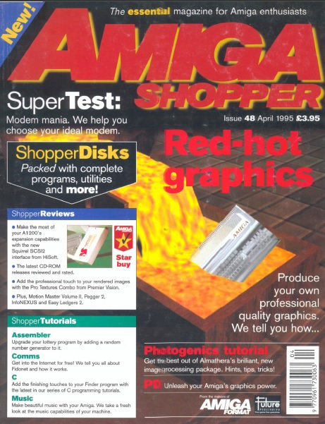 April 1995 Amiga Shopper