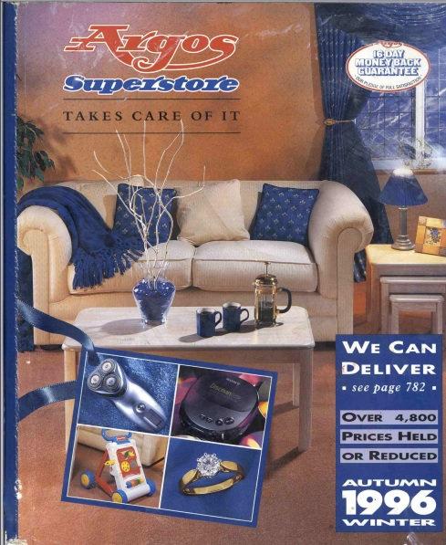 1996-1997 Argos Autumn/Winter