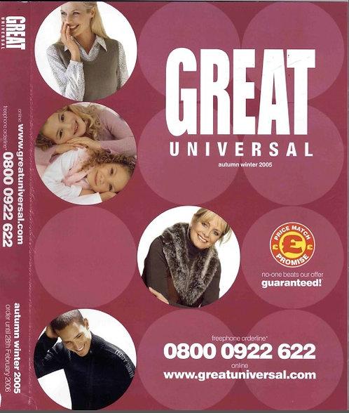 2005-2006 Great Universal Autumn/Winter