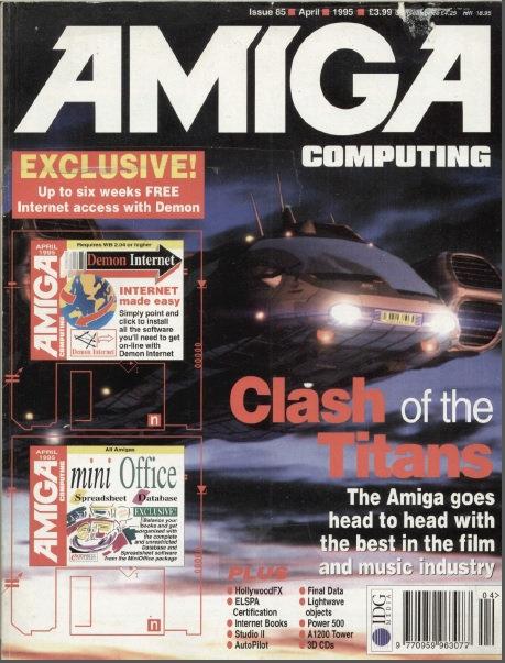 Amiga Computing April 1995