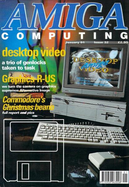 Amiga Computing Jan 1991