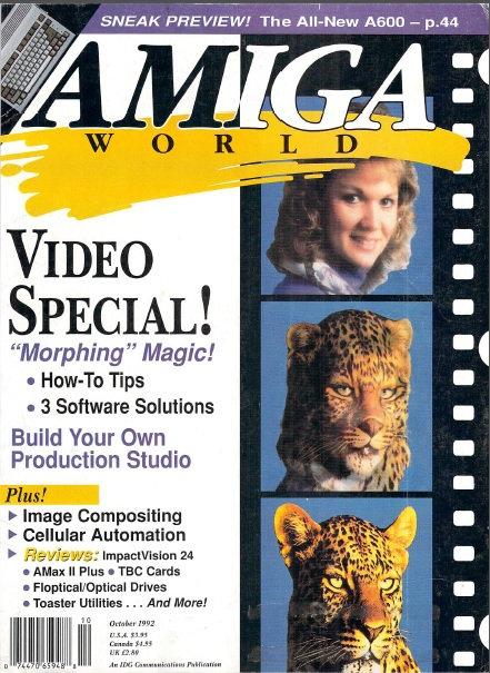 Amiga World Oct 1992
