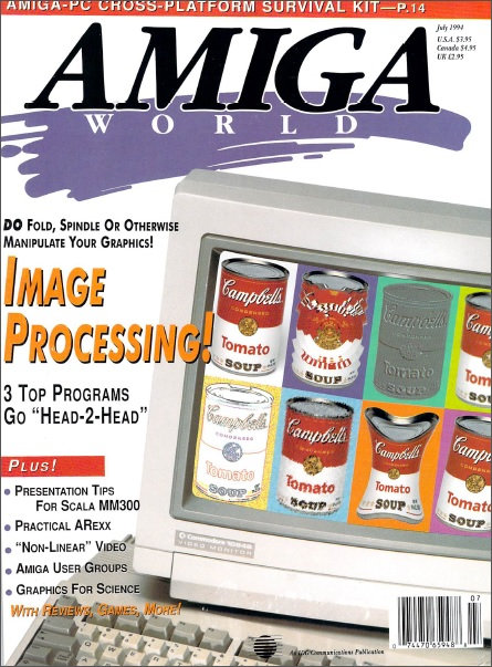 Amiga World July 1994