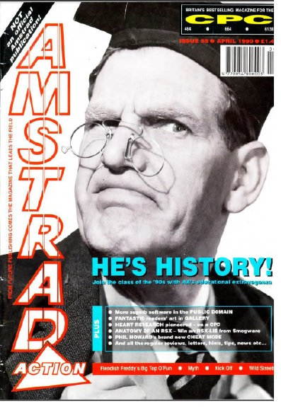 Amstrad Action April 1990