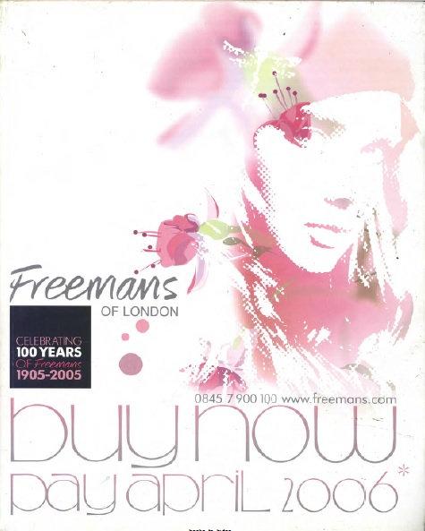2005 Freemans Autumn/Winter