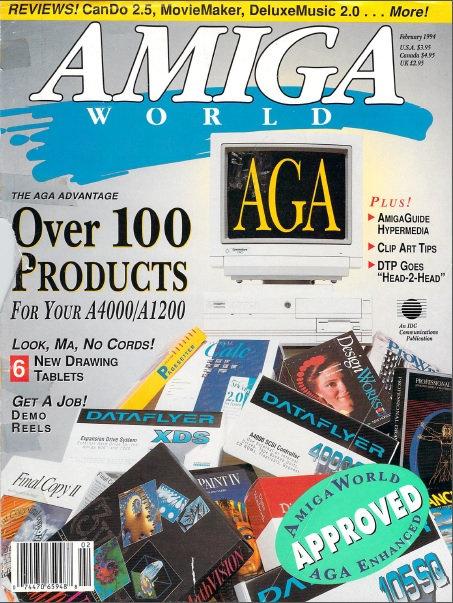 Amiga World Feb 1994