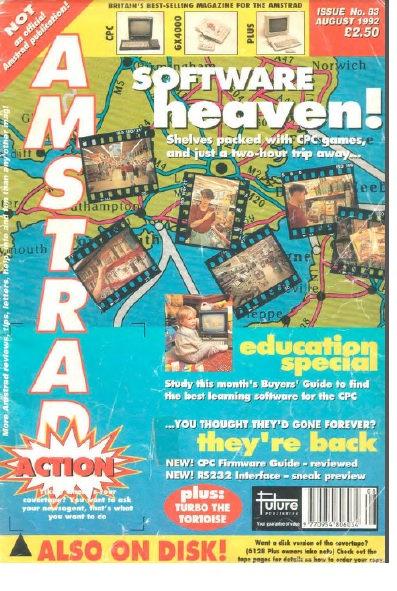 Amstrad Action Aug 1992