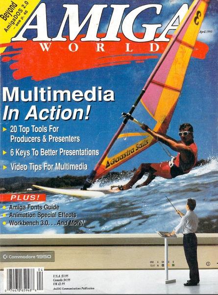 Amiga World Apr 1993