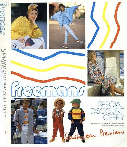 1987 Freemans Spring/Summer