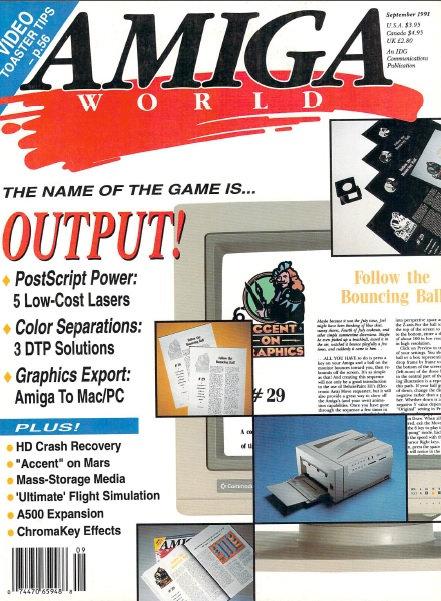 Amiga World Sep 1991