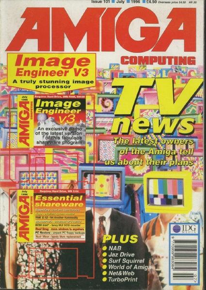 Amiga Computing July 1996