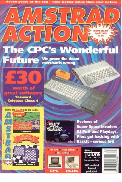 Amstrad Action April 1993
