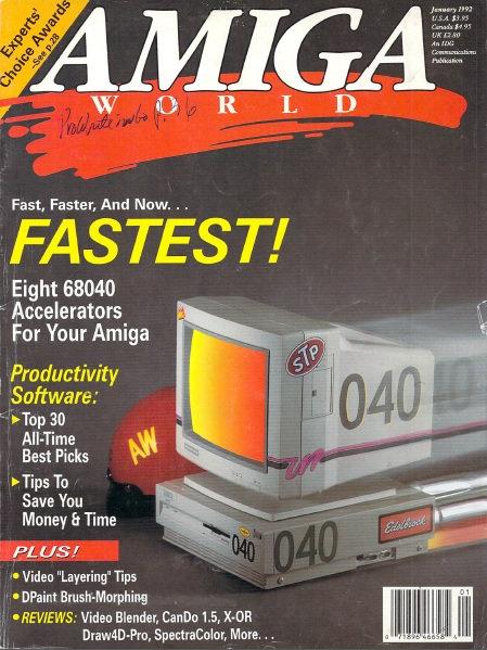 Amiga World Jan 1992