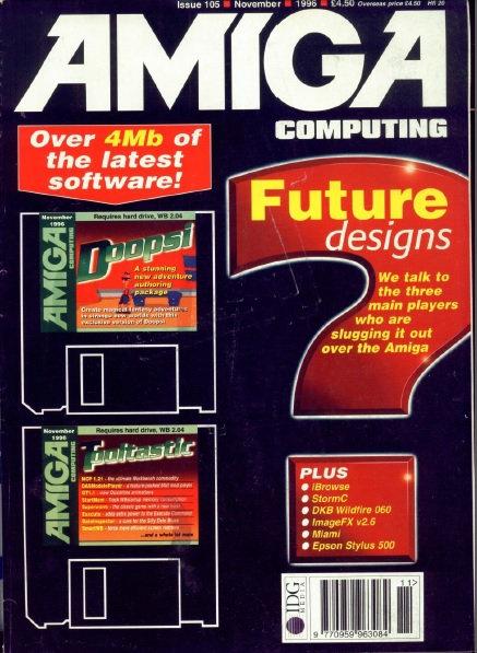 Amiga Computing Nov 1996