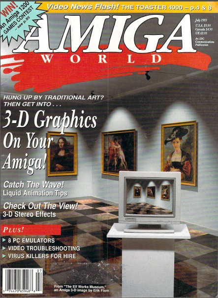 Amiga World July 1993