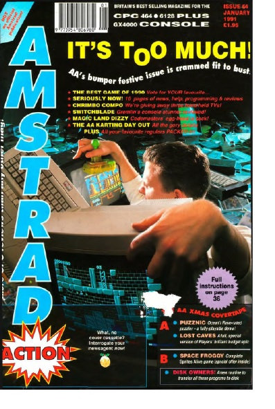 Amstrad Action Jan 1991