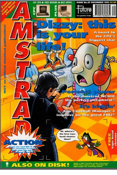 Amstrad Action Dec 1992