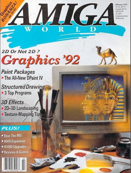 Amiga World Feb 1992