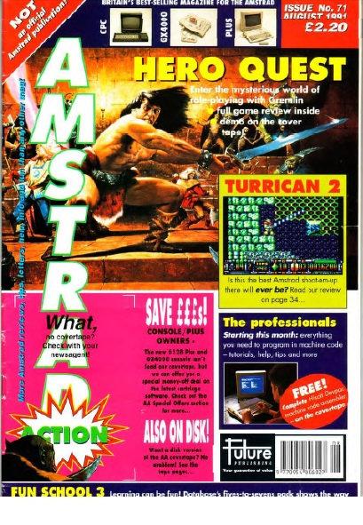 Amstrad Action Aug 1991