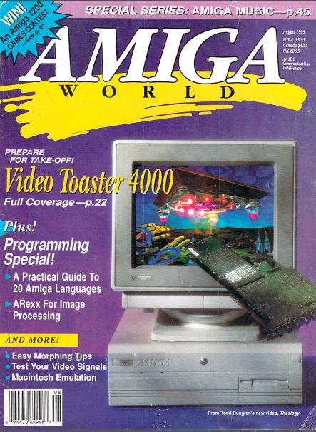 Amiga World Aug 1993