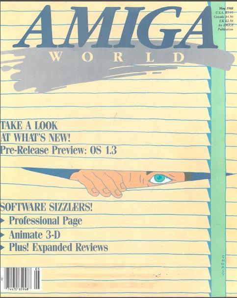 Amiga World May 1988