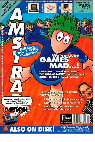 Amstrad Action July 1992