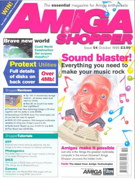 October 1995 Amiga Shopper