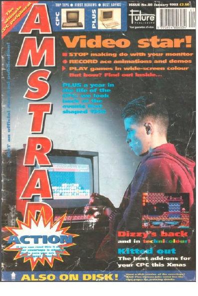 Amstrad Action Jan 1993