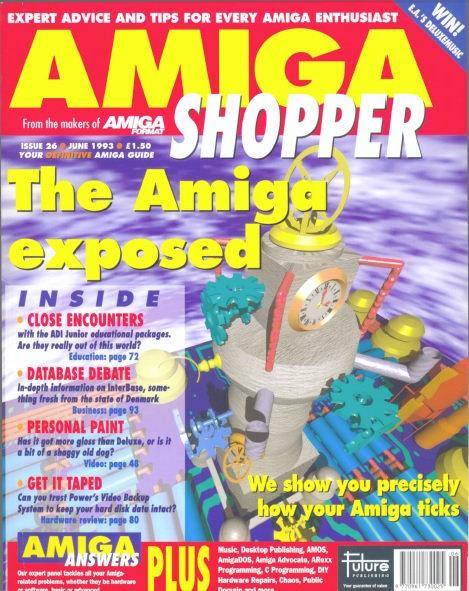 June 1993 Amiga Shopper