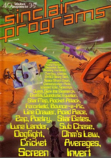 Sinclair Programs May/June 1982