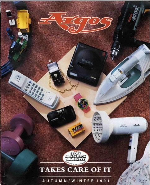 1991-1992 Argos Autumn/Winter