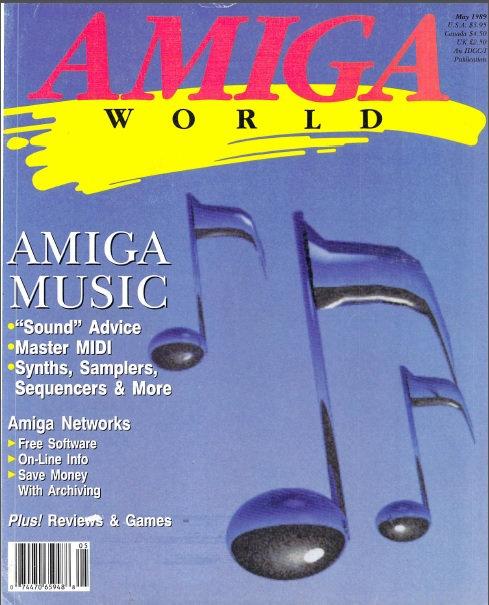 Amiga World May 1989