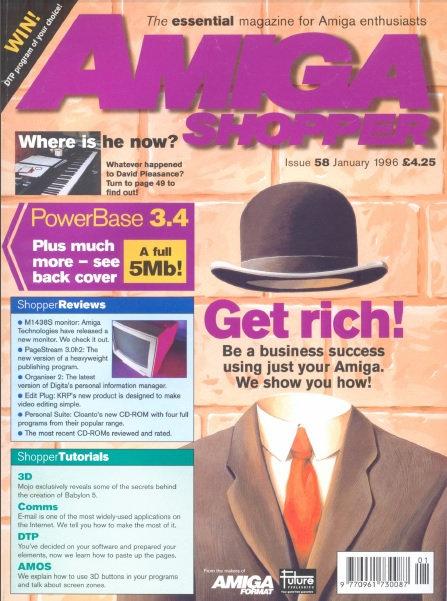 January 1996 Amiga Shopper