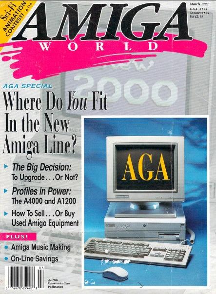 Amiga World Mar 1993