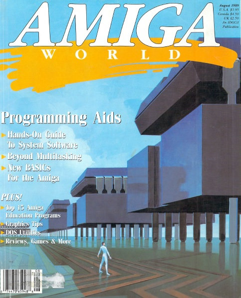 Amiga World Aug 1989