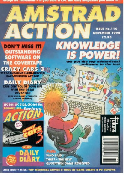 Amstrad Action Nov 1994