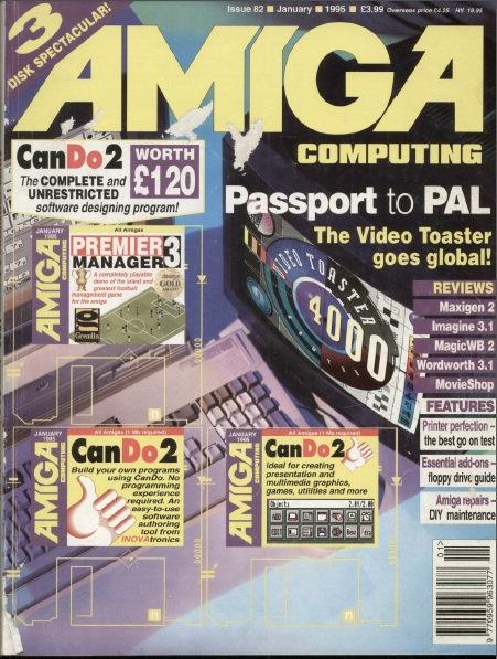 Amiga Computing Jan 1995