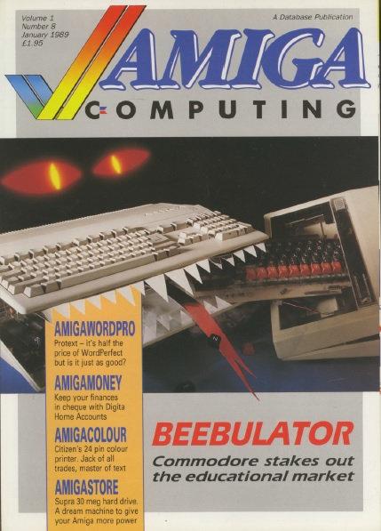 Amiga Computing Jan 1989