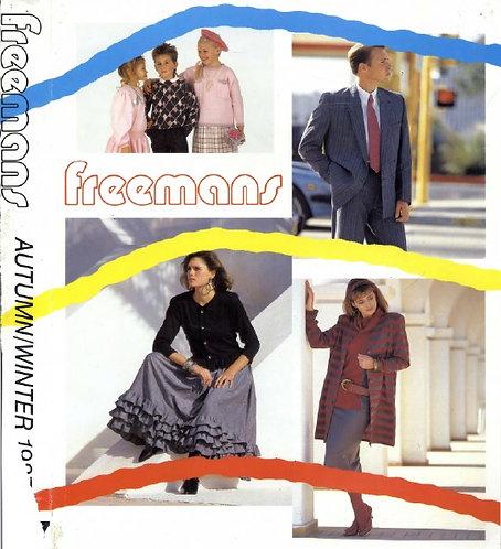 1987-1988 Freemans Autumn/Winter