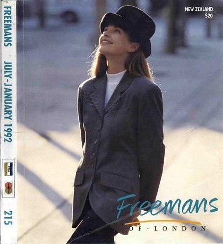 1992 Freemans July-January