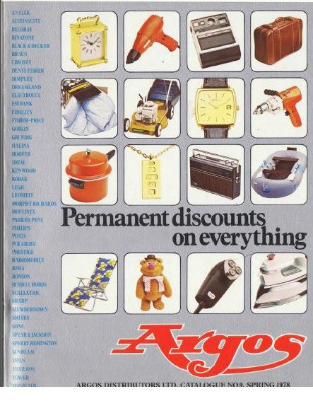 1978 Argos Spring/Summer