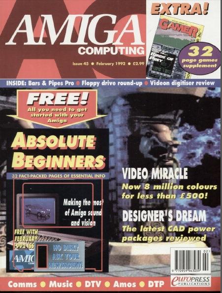 Amiga Computing Feb 1992