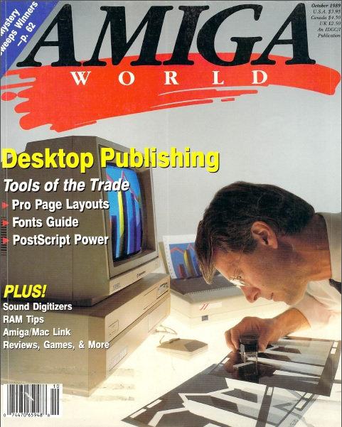 Amiga World Oct 1989