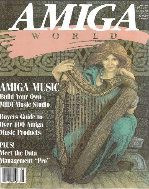 Amiga World June 1988