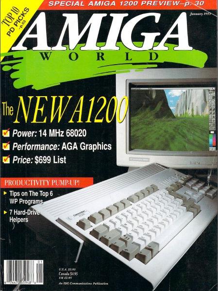 Amiga World Jan 1993