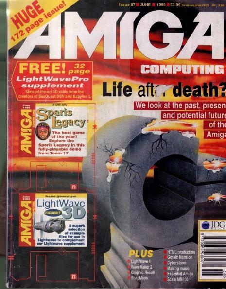 Amiga Computing June 1995